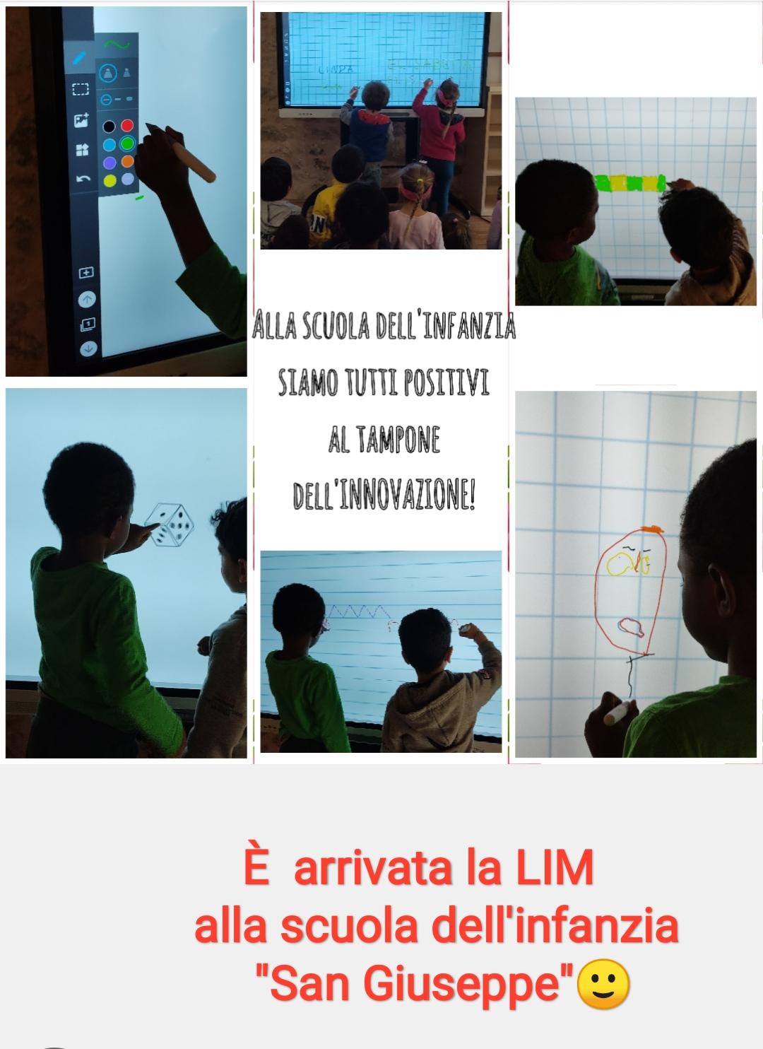 Nuova LIM scuola infanzia