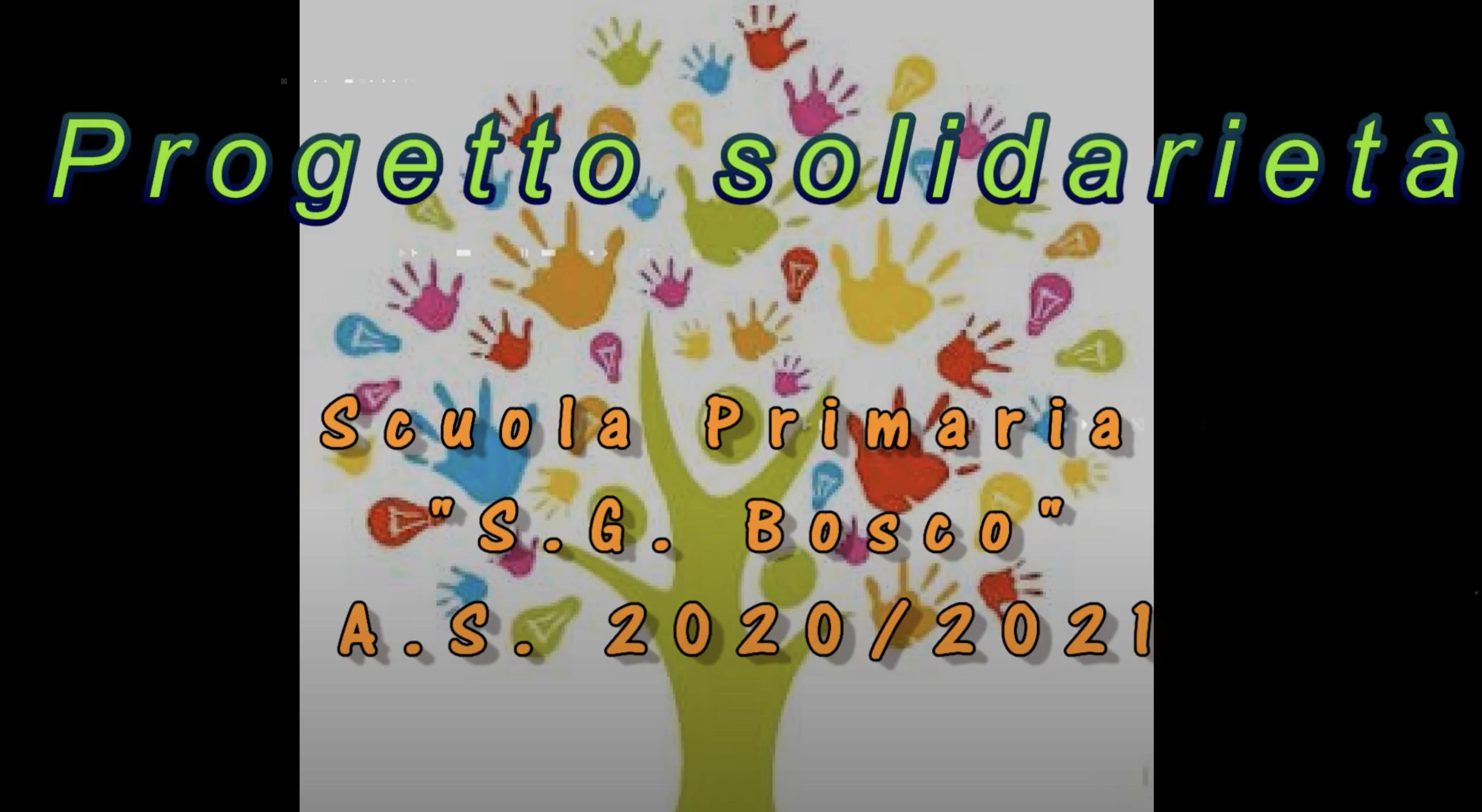 Progetto solidarietà 2021